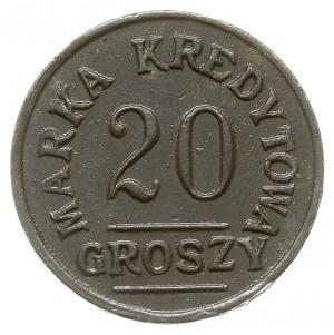Łódź - 20 groszy Spóldzielni 28. Pułku Piechoty Strzelc...