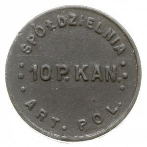Łódź - 10 groszy Spółdzielni 10. Kaniowskiego Pułku Art...