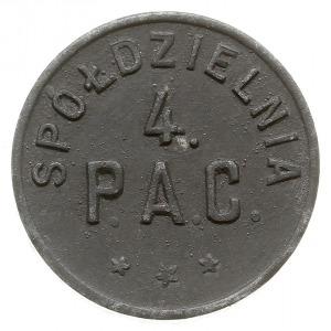 Łódź - 10 groszy Spółdzielni 4. Pułku Artylerii Ciężkie...