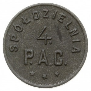 Łódź - 20 groszy Spółdzielni 4. Pułku Artylerii Ciężkie...