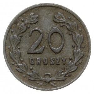Lwów - 20 groszy Wojskowej Spółdzielni Okręgu Korpusu n...