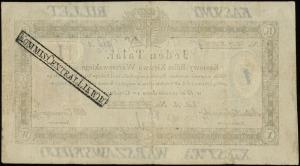 1 talar 1.12.1810, litera A, numeracja 47384, podpis ko...