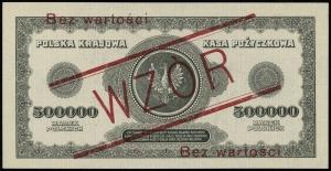 500.000 marek polskich 30.08.1923, seria D, numeracja 0...