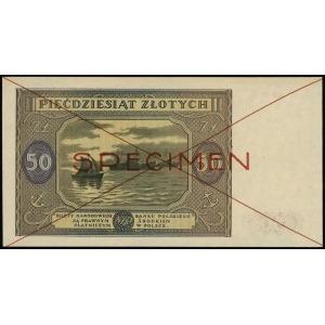 50 złotych 15.05.1946, seria A, numeracja 8900000 / 123...