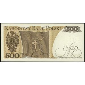 500 złotych 16.12.1974, seria AD, numeracja 1265858, Lu...