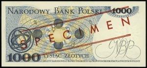 1.000 złotych 2.07.1975, seria AH, numeracja 0000018, c...