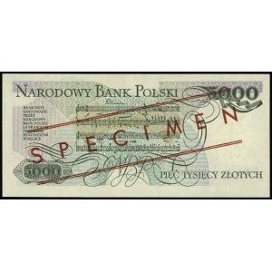 5.000 złotych 1.06.1986, seria AY, numeracja 0000000, c...