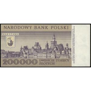 200.000 złotych 1.12.1989, seria D, numeracja 0400097, ...