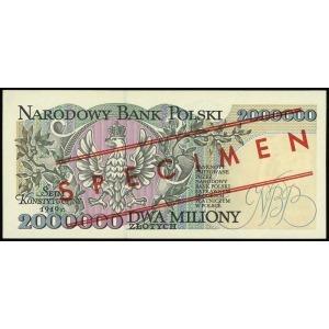 2.000.000 złotych 16.11.1993, seria A, numeracja 000000...