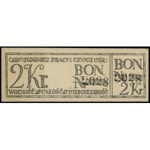 2, 10, 20 i 50 koron, 2 korony z numeracją 2028, pozost...