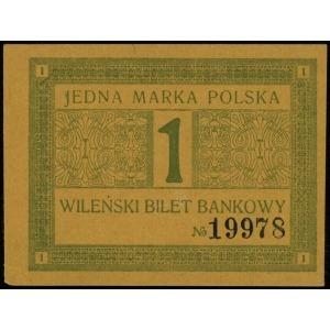 Wilno, Wileński Bank Handlowy, 1, 5, 10 i 20 marek pols...