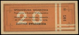 Spółdzielnia Wojskowa z Odp. Udz. Pogranicze w Krośni...