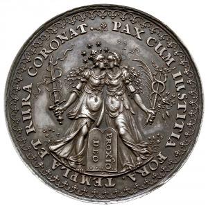 medal autorstwa Sebastiana Dadlera i Jana Höhna sen., w...