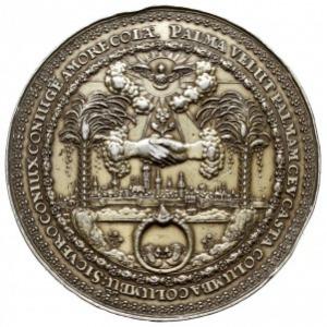 medal autorstwa Jana Höhna starszego z serii tzw. profa...