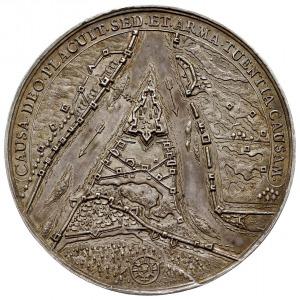 medal autorstwa Jana Höhna młodszego, wybity w 1659 w G...