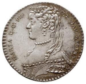 Maria Leszczyńska, królowa Francji, żeton z 1751 roku, ...
