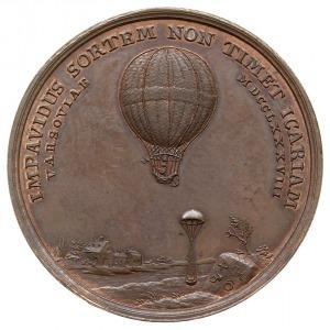 medal autorstwa Loosa z 1788 roku wybity z okazji przel...