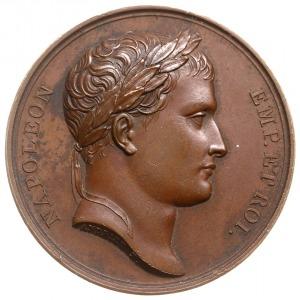 medal autorstwa Andrieu'a i Denon'a z 1807 roku wybity ...