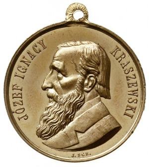 medalik z uszkiem autorstwa Johanna Schwerdtnera (medal...