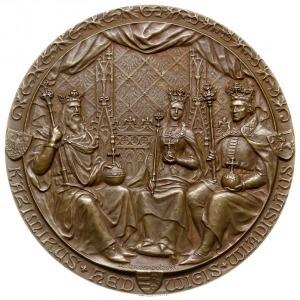 medal autorstwa Wincentego Trojanowskiego z 1900 roku w...