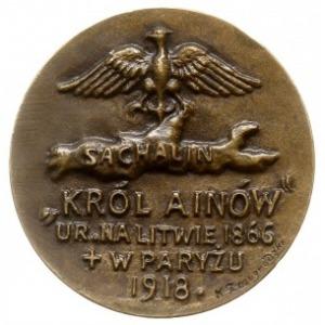 medal autorstwa Konstantego Żmigrodzkiego z 1918 roku p...