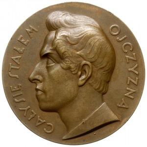 medal autorstwa Tadeusz Breyera z 1927 roku wybity z ok...