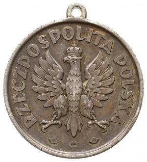 niesygnowany medal nagrodowy z 1925 roku wybity z okazj...