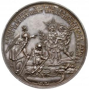 medal autorstwa Sebastiana Dadlera z 1631 roku wybity n...