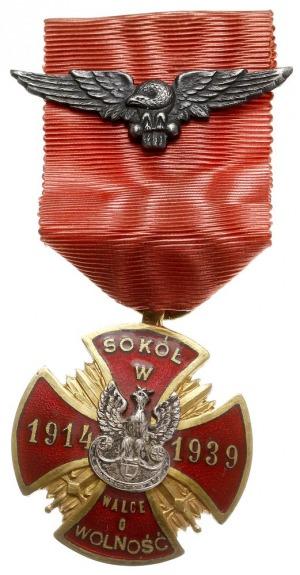 odznaka pamiątkowa Związku Towarzystw Gimnastycznych S...