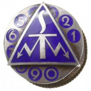 pamiątkowa odznaka Służby Telefonistów, odznaka dwuczęś...