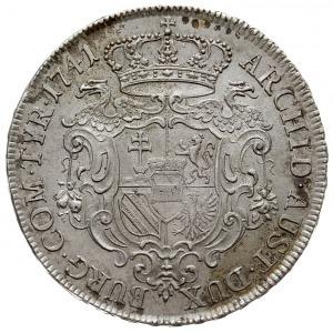 talar (tzw. Antrittstaler) 1741, Wiedeń, Dav. 1109, Eyp...