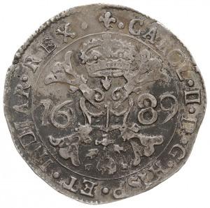 patagon 1689, Flandria, Brugia, Dav. 4494, Delm. 344, s...