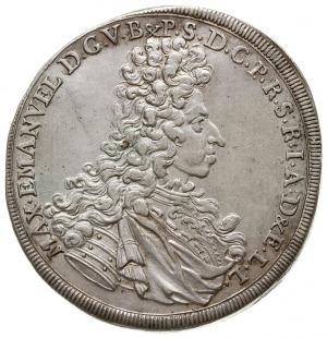 talar 1694, Aw: Popiersie w prawo, Rw: Siedząca Madonna...