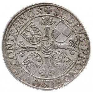 talar 1544, Schwabach, emisja po śmierci Jerzego z Ansb...