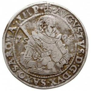 talar 1584 HB, Drezno, Dav. 9798, Keilitz 68, Schnee 72...