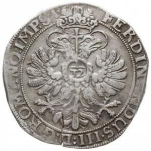 talar 1640, z tytulaturą Ferdynanda III, srebro 28.07 g...