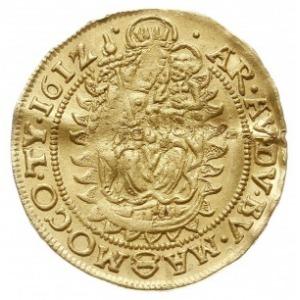 dukat 1612 KB, Krzemnica, Huszár 1082, Fr. 81, złoto 3....