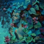 Izabela Gałązka, W moim ogrodzie rozpływam się w myślach, 2019