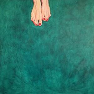 Sebastian Andrzejewski, Angel's feet, 2019r.
