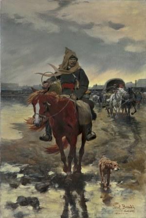 Brandt Józef, POWRÓT Z JARMARKU, PRZED/LUB 1904