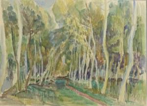 Henryk EPSTEIN (1892-1944), Pejzaż z drzewami