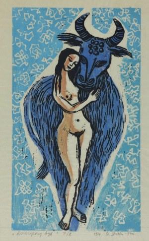 Stefania DRETLERE-FLIN (1909-1994), Księżycowy byk, 1974