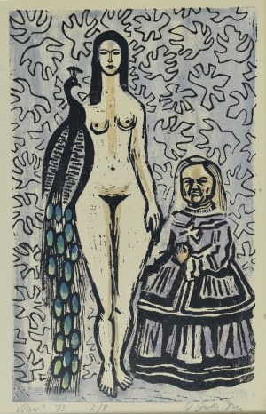 Stefania DRETLERE-FLIN (1909-1994), Paw, 1973
