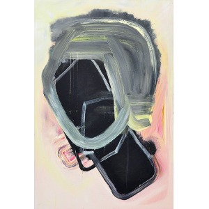 Dorota BUCZKOWSKA (ur. 1971), Autoportret, z cyklu: Wracam na brzeg rzeki, 2014