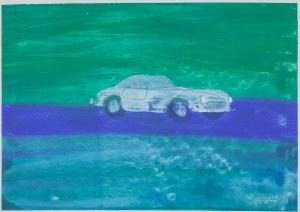 Jacek ŁYDŻBA (ur. 1966), Auto, 2001