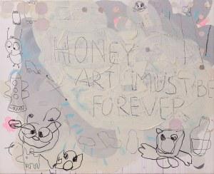 Gossia ZIELASKOWSKA (ur. 1983), Honey are must be forever, 2010