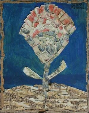 Teresa Rudowicz (1928-1994), Bez tytułu[Kwiat]