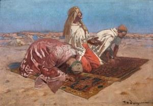 Feliks Michał Wygrzywalski (1875 Przemyśl - 1944 Rzeszów), Modlący się