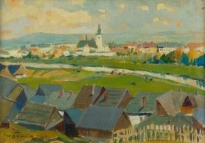 Michał Stańko (1901 Sosnowiec - 1969 Zakopane), Pejzaż, 1933 r.