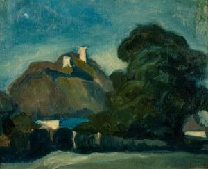 Wilk (Wilhelm) Ossecki (1892-1958), Pejzaż wiejski